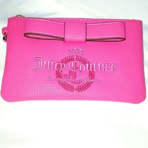 Juicy Couture Flamingo Wristlet bag